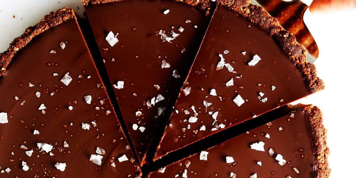 تارت شکلات گرم با عسل
