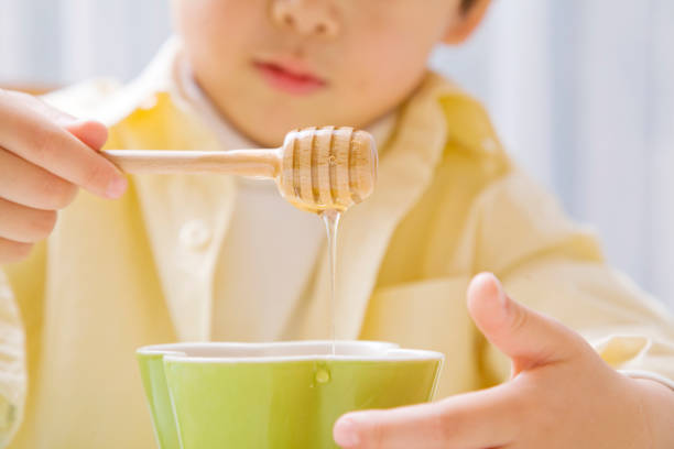 عسل و کودکان