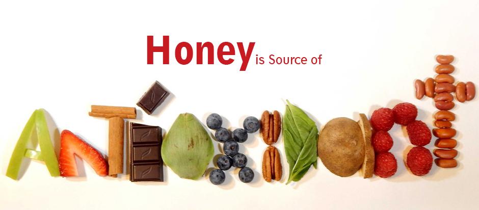 عسل به عنوان منشاء آنتی اکسیدان